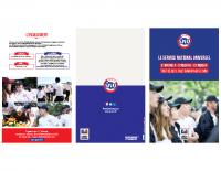 Plaquette de communication 2020